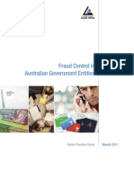 Fraud Control in Australian Goverment Entities