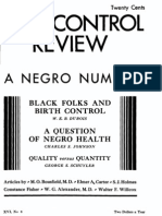 June 1932 Birth Control Review WEB Dubois Founder of NAACP Reveals Eugenic Beliefs