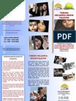 Brochure Keluarga Miskin Palestin