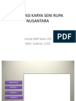 Apresiasi Karya Seni Rupa Nusantara