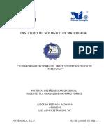ESTUDIO CLIMA ORGANIZACIONAL