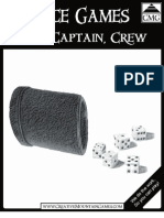 Dice Game - Ship, Captain, Crew