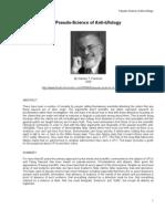 Pseudoscience of Anti Ufology. Stanton T. Friedman.