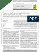 Cytotoxicity of TQ Towards SiHa Cells
