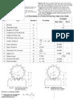 Design of Internal Gear