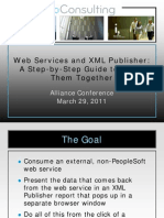 PeopleSoft Web Service to XML Publisher Report