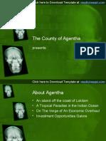 Skull X-ray PowerPoint Background