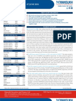 MARKET OUTLOOK FOR 7 June - CAUTIOUSLY OPTIMISTIC