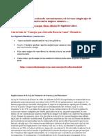 Implicaciones de La Ley de Violencia de Genero y Las Relaciones