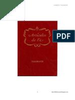 Articulos de Fe James E. Talmage