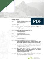 """Programa Oficial de actividades por """"Año del Centenario de Machu Picchu para el Mundo"""""""