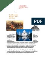 A Tale of Three Empires Essay