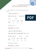 Ejercicios resueltos Aplicaciones de la derivada.1º Bach.