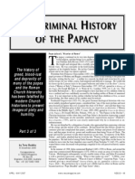 The Criminal History of Papacy - Part 3