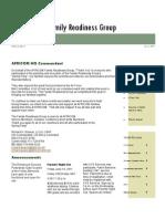 US AFRICOM Family Readiness Group June Newsletter