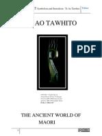 MAORI ART Symbolism, Te Ao Tawhito, The Ancient World of Maori