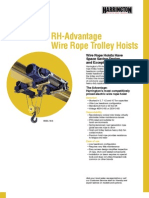 RH-A_SS Wire Rope Hoists