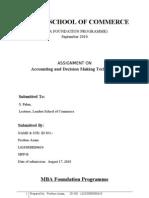 ADMT-Assignment (Ferdous Azam)