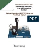 QNET-ROTPEN Exp04-Inv Pendulum Student