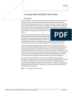 Cisco Catalyst 6500 and 6500-E Series Data Sheet