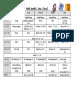 Room 8 Timetable Term 2