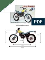 Montesa Cota-310 Instrucciones y Despiece CABRERO_310
