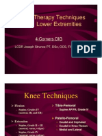 Manual Therapy Techniques for the Knee