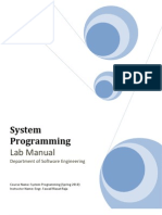 Labs-System Programming Lab 01