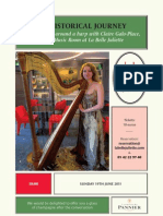 Conversations around a harp with Claire Galo-Place  at La Belle Juliette, June 19th