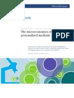 The Microeconomics of Personlized Medicines