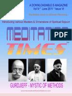 Meditation Times June 2011