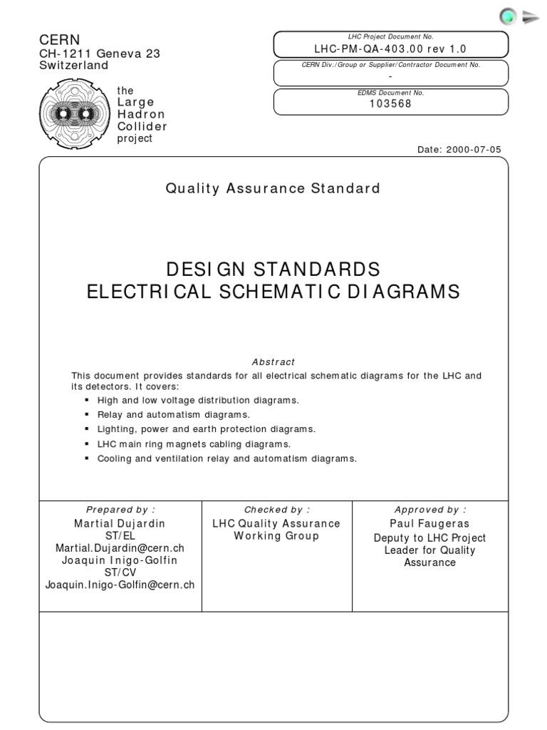 Electrical Single Line Diagram