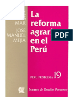 La Reforma Agraria en El Peru