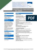 Responsabilité sociétale des organisations et ISO 26000
