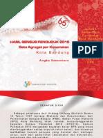 BPS kota Bandung 2010