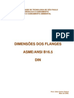 Dimensoes Dos Flanges ASME ANSI