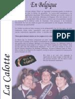 Materiał o katolickiej czapce studenckiej w Belgii (fra)