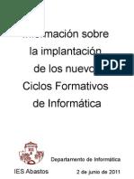 Ciclos Formativos Informaticaa