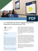 Case Study - Projet de Virtualisation Hyper-V à l'IRE