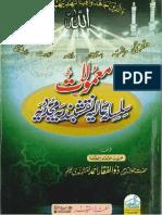 Mamulaat Silsalah Aliyah Naqshbandiyah Mujaddidiyah-Hazrat Zulfiqar Naqshbandi Db