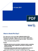 World IPv6 Day Overview