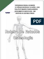 ROTEIRO ESTUDOS OSTEOLOGIA - FILIPE EMANUEL - UFS