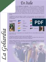 Materiał o włoskiej czapce studenckiej w (fra)