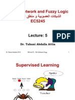 Neural Network and Fuzzy Logic(Lec5)