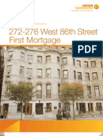 272-276 West 86th Street Exclusive Offering Memorandum