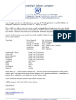 U11 & 13 Info Letter 2011