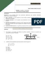 09 Ecuaciones de 1º Grado