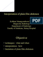 Plain Film Abdomen