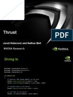 An Introduction to Thrust