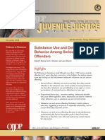MULVEY ET AL Substance Use and Delinquent Behavior Among Serious Adolescent Offenders